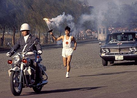 オリンピック聖火リレー