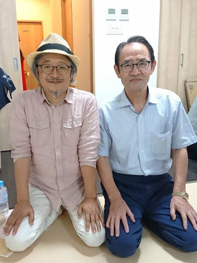 工藤先生とツーショツト