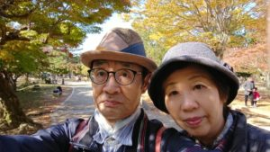 奈良公園(紅葉)