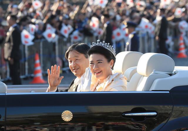 天皇陛下の即位パレード