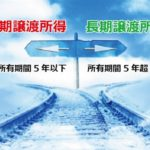 譲渡税(短期・長期)